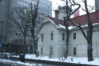 札幌の名所 時計台